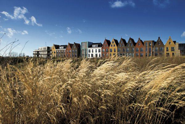 Vinex-Wijk Amersfoort-Vathorst. Vinex wijken zijn de laatste woonwijken die centraal uit de grond zijn gestampt. Tussen 1995 en 2005 werden 680.000 woningen gebouwd.