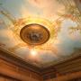 Prachtige 19e-eeuwse plafondschilderingen gevonden in Leeuwarder herenhuis