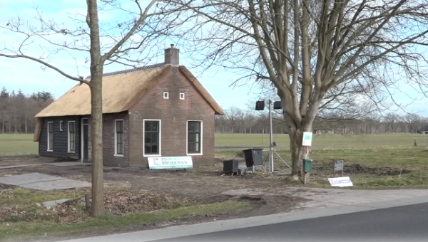 'Tiny house' in Frederiksoord
