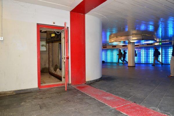 Openbare schuilplaats in Noordertunnel Utrecht