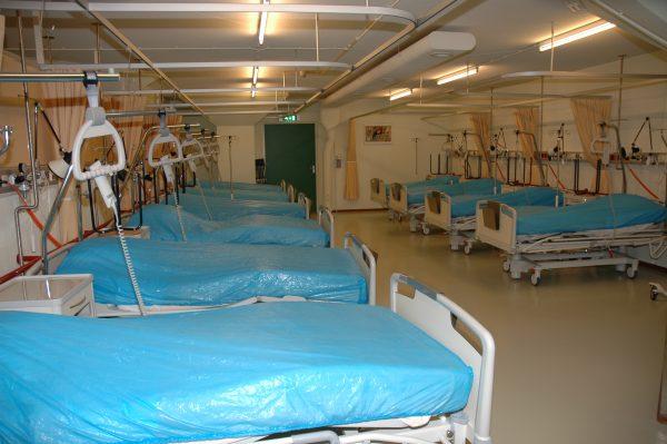 Calamiteitenhospitaal UMCU.