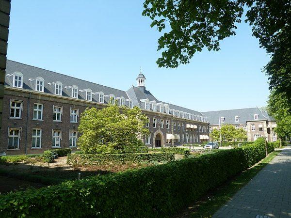 Vroedvrouwenschool in Heerlen, ontworpen door Jan Stuyt.
